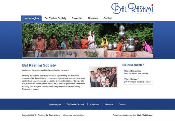 Homepagina - Stichting Bal Rashmi Society