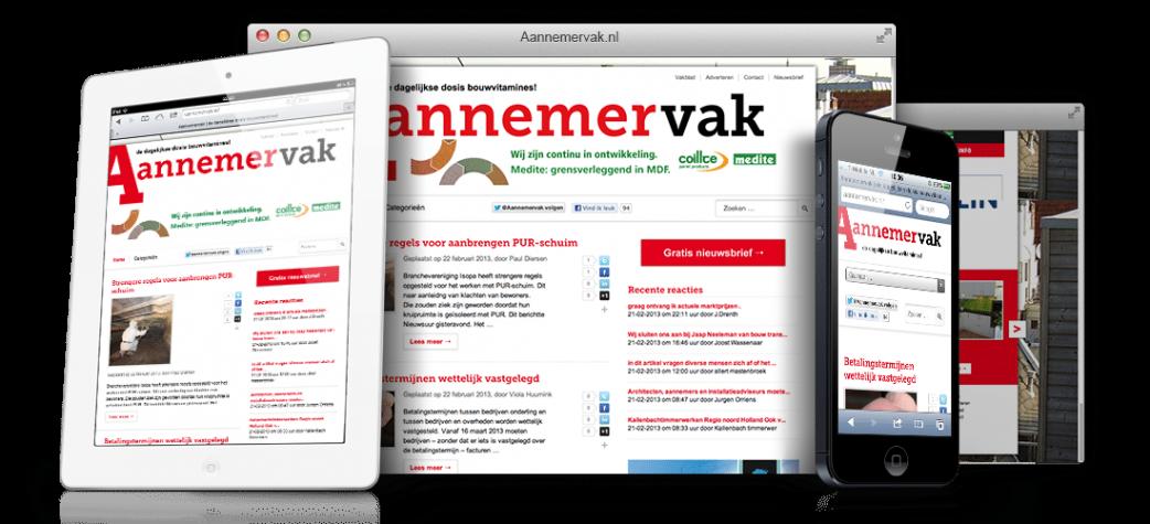 Aannemervak.nl: Responsive WordPress thema